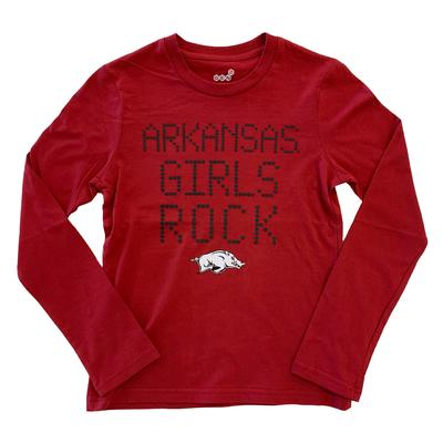 Arkansas Girls Rock Long Sleeve Tee