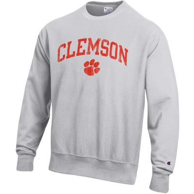 Clemson Champion Men's Reverse Weave Sweatshirt