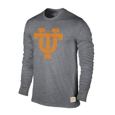 Tennessee Retro Brand Streaky Triblend Long Sleeve T-Shirt