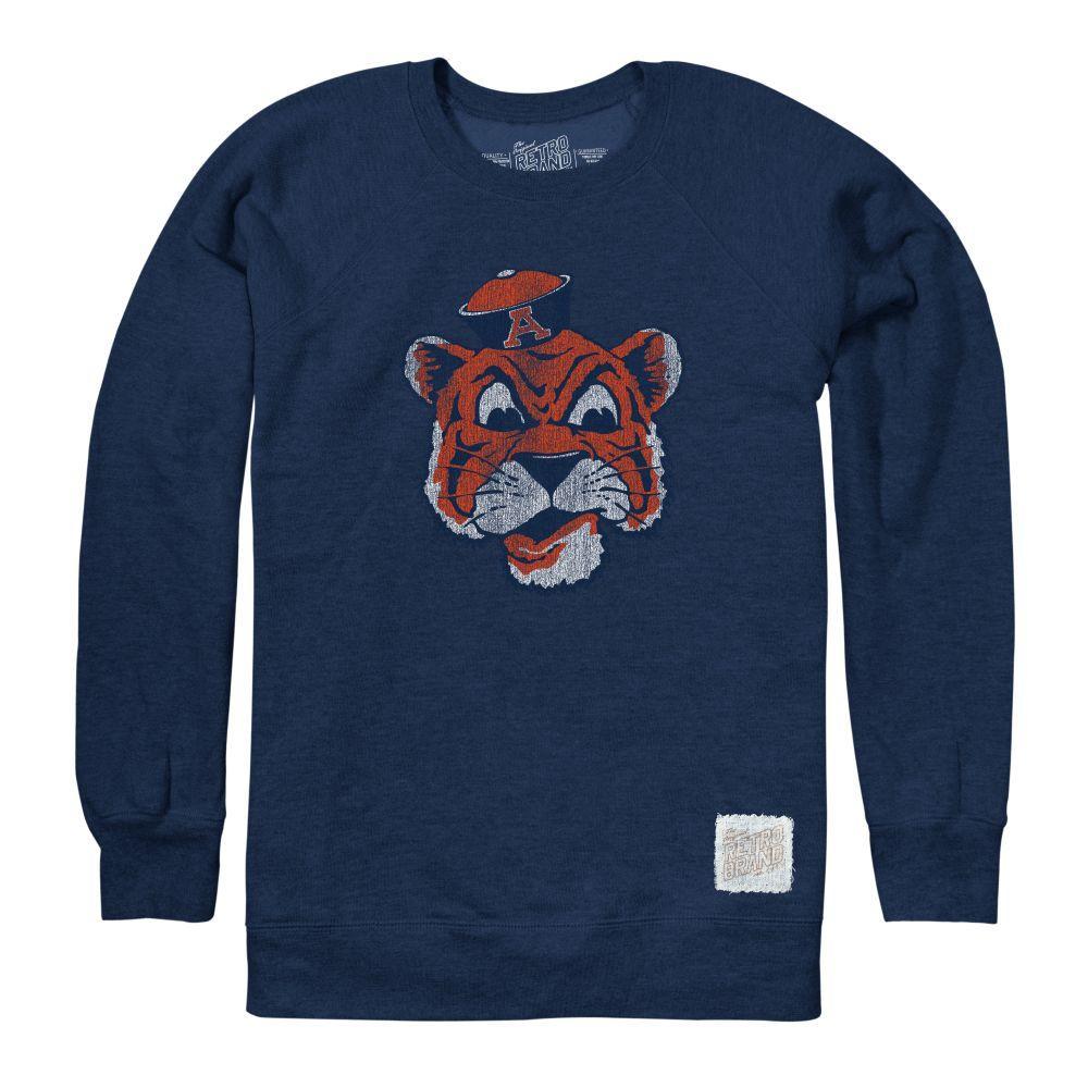 Auburn Retro Brand Vault Logo Crew Sweatshirt