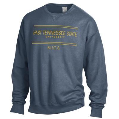ETSU ComfortWash Double Bar Sweatshirt