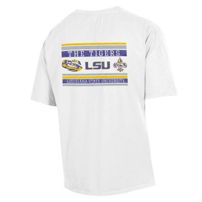 LSU Comfort Wash Double Bar S/S Tee