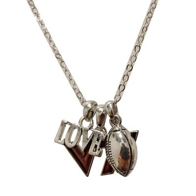 Virginia Tech Touchdown Necklace