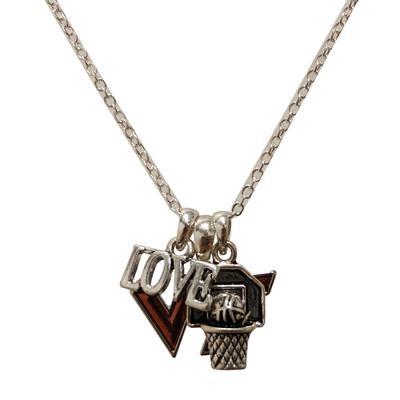 Virginia Tech Slam Dunk Necklace