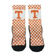 Tennessee Checkerboard Crew Sock