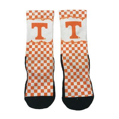 Tennessee Checkerboard Crew Sock