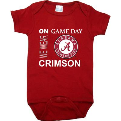 Alabama Future Tailgaters Game Day Onesie