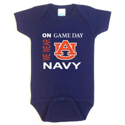 Auburn Future Tailgaters Game Day Onesie