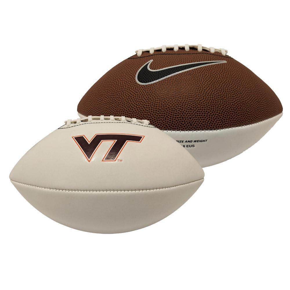 Virginia Tech Nike Autograph Football