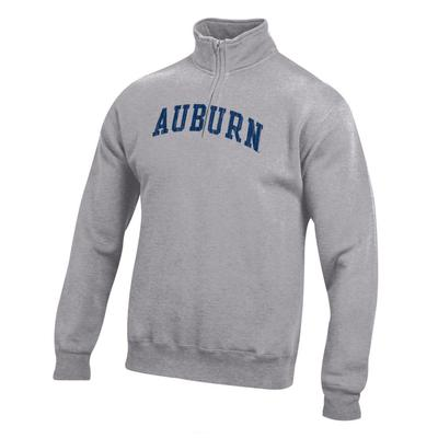 Auburn Women's Big Cotton 1/4 Zip Pullover