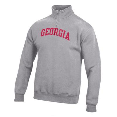 Georgia Women's Big Cotton 1/4 Zip Pullover