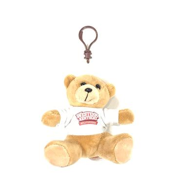 Western Kentucky 4' Bear Keychain