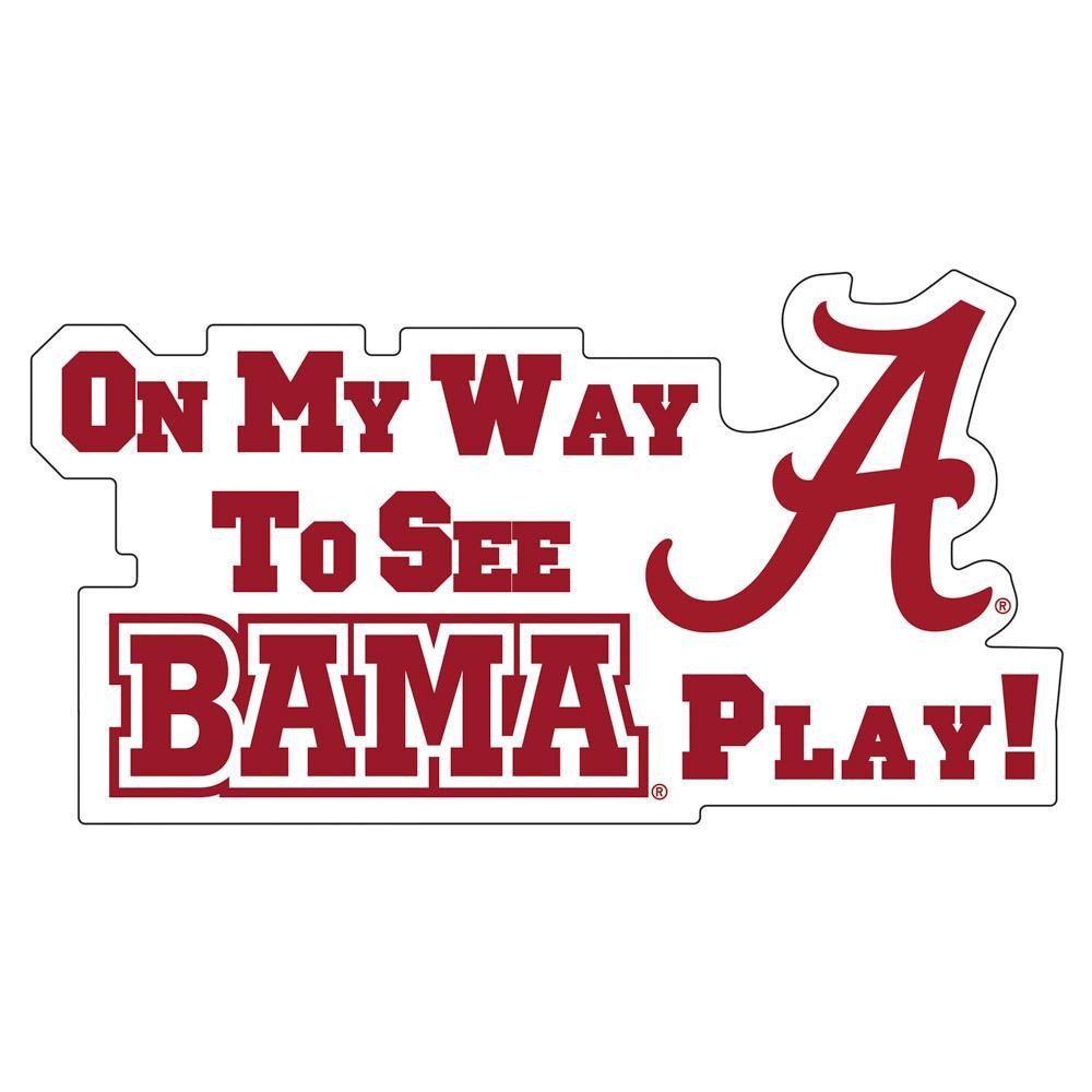 Alabama Car Magnet