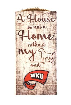 Western Kentucky A House is not a Home Canvas
