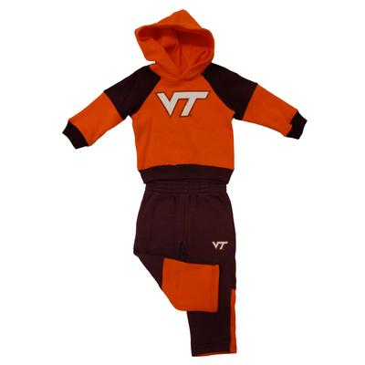 Virginia Tech Toddler Fleece Hoodie/Pant Set