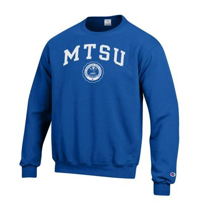 MTSU Champion College Seal Fleece Crew