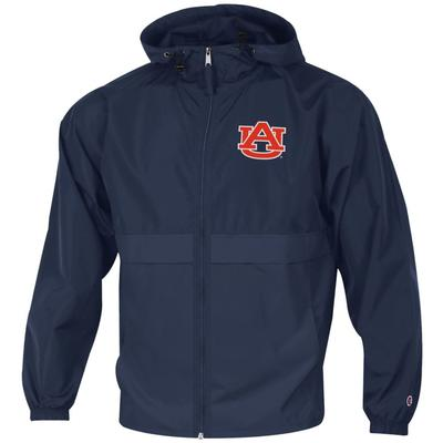Auburn Full Zip Lightweight Rain Jacket