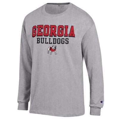Georgia Bulldogs Champion Brand Long Sleeve Tee
