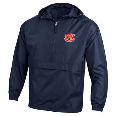 Auburn Champion Pack And Go Jacket NAVY