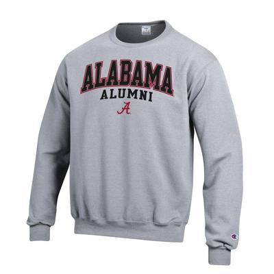 Alabama Screen Fleece Alumni Crew Neck