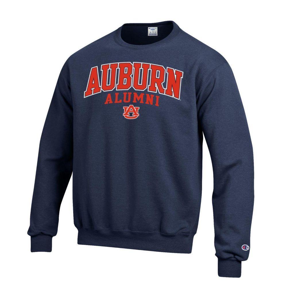 Auburn Screen Fleece Alumni Crew Neck
