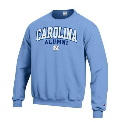 UNC Screen Fleece Alumni Crew Neck