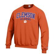 Clemson Screen Fleece Alumni Crew Neck