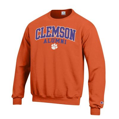 Clemson Screen Fleece Alumni Crew Neck