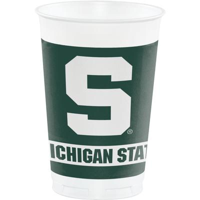 Michigan State Hoffman 20 oz Plastic Cups