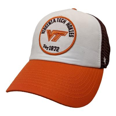 Virginia Tech '47 Brand Patch Swell MVP Snapback