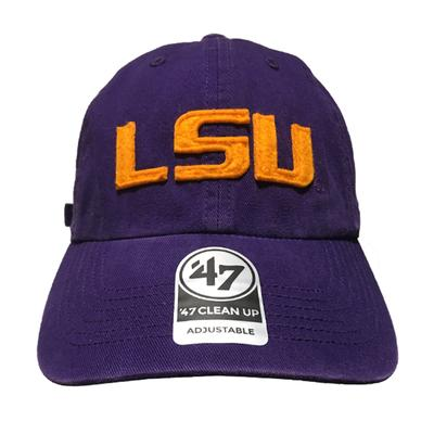 LSU '47 Brand Felt Raised Logo Adjustable Cap