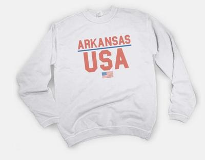 B Unlimited Arkansas USA Sweatshirt