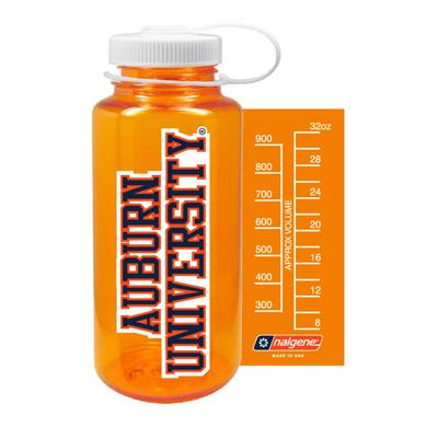 Auburn Nalgene University Big Mouth Water Bottle