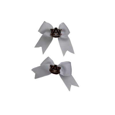 Auburn Hair Bows with tails (2 pack)