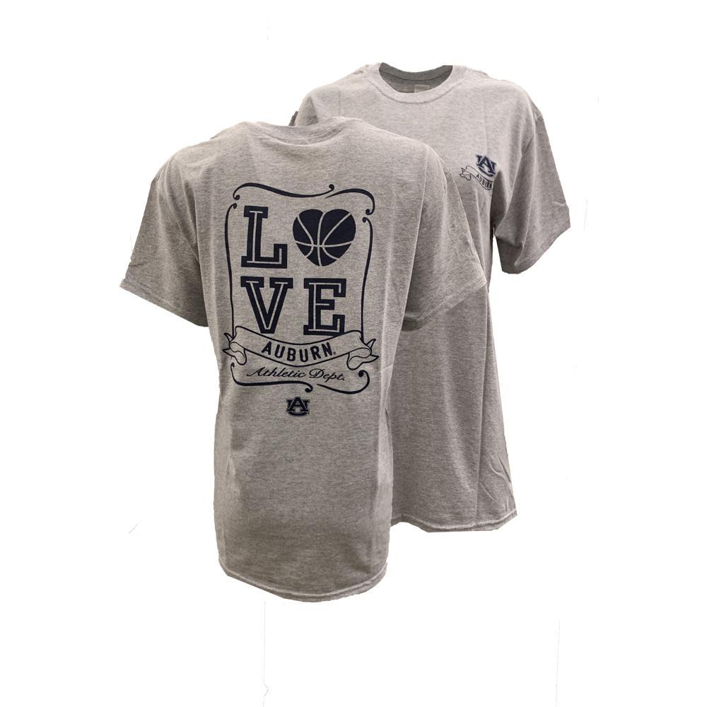 Auburn Love Basketball T Shirt