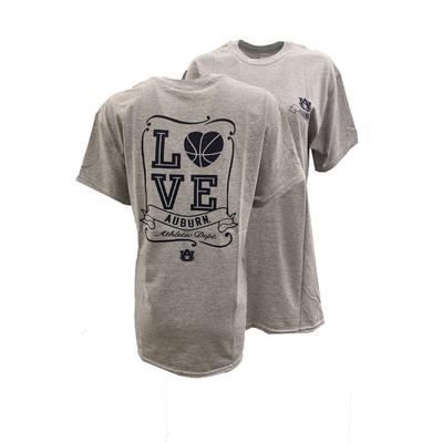 Auburn Love Basketball T Shirt