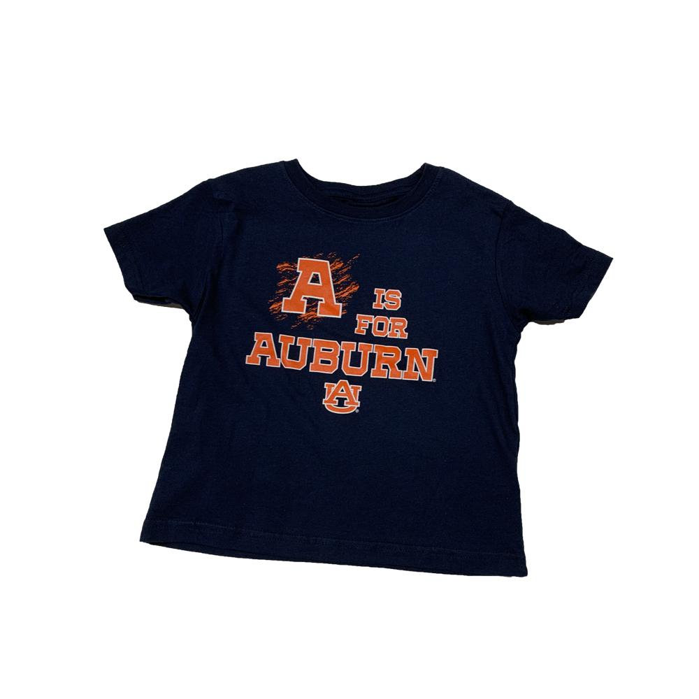 A Is For Auburn Toddler Tee Shirt