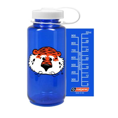 Auburn Nalgene Mascot Big Mouth Water Bottle