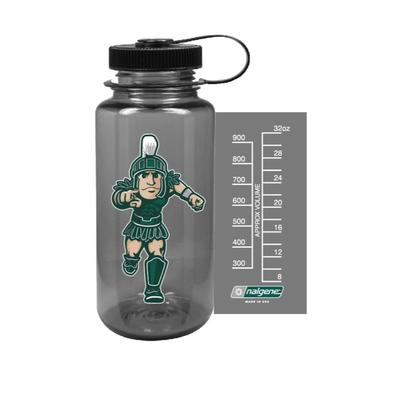 Michigan State Nalgene Mascot Big Mouth Water Bottle