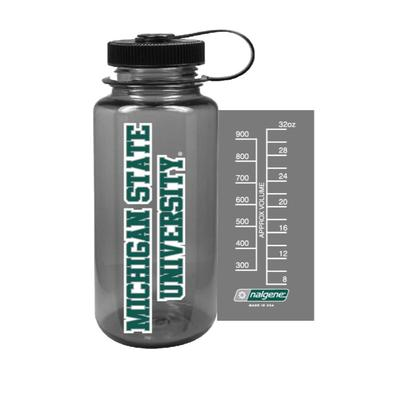 Michigan State Nalgene University Big Mouth Water Bottle