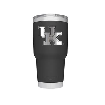 Kentucky YETI 30 Oz. Black Rambler Tumbler