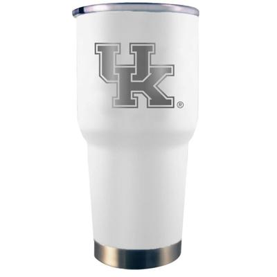 Kentucky YETI 30 Oz. White Rambler Tumbler