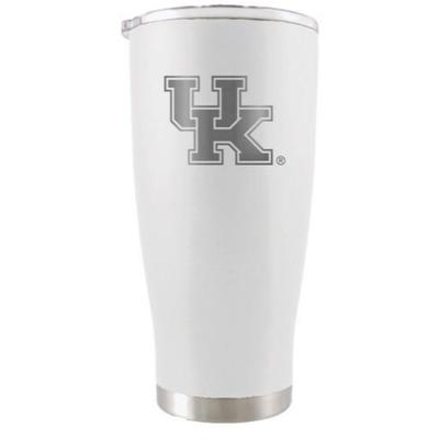Kentucky YETI 20 Oz. White Rambler Tumbler