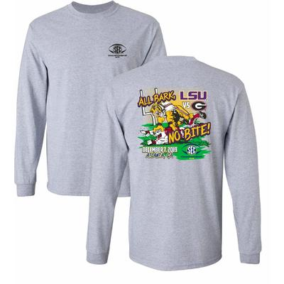 2019 SEC Championship Matchup All Bark No Bite Long Sleeve Tee