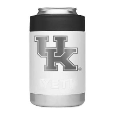 Kentucky YETI 12 Oz. White Colster