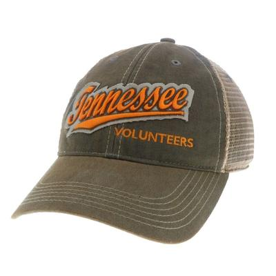 Tennessee Vin Trucker Snap Back Hat