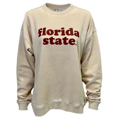Florida State Chicka-D Women's Campus Crew Sweatshirt