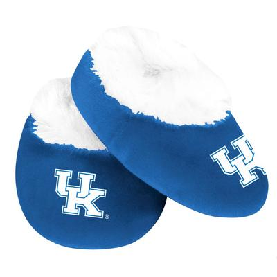 Kentucky Fur-Lined Baby Booties