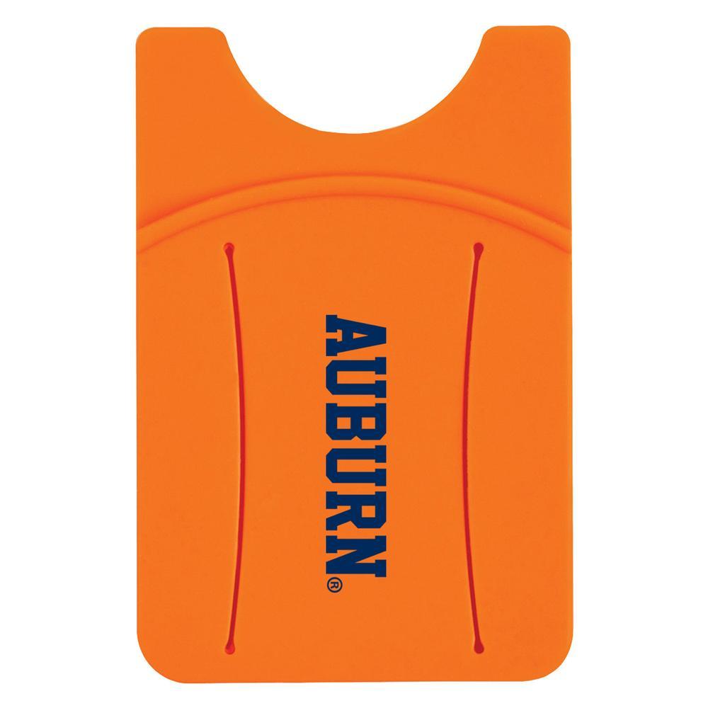 Auburn Silicone Wallet W/Finger Slot