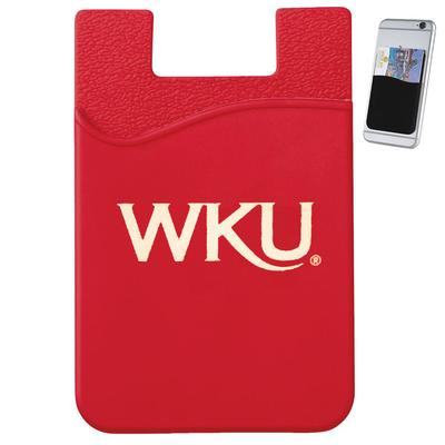 Western Kentucky Slim Silicone Card Wallet